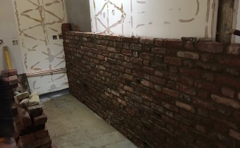 Exposed Brick Veneer